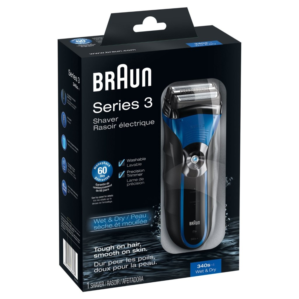 #10 Best Electric Shavers Braun Series 3 340-S