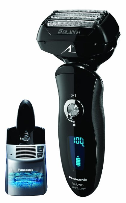 #6 Best Electric Shavers Panasonic Arc 5 ES-LV81 K
